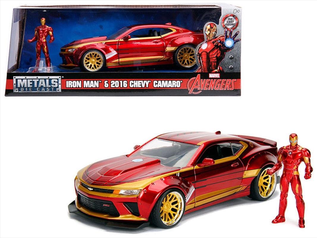 Iron Man - 2016 Chevrolet Camaro   Merchandise