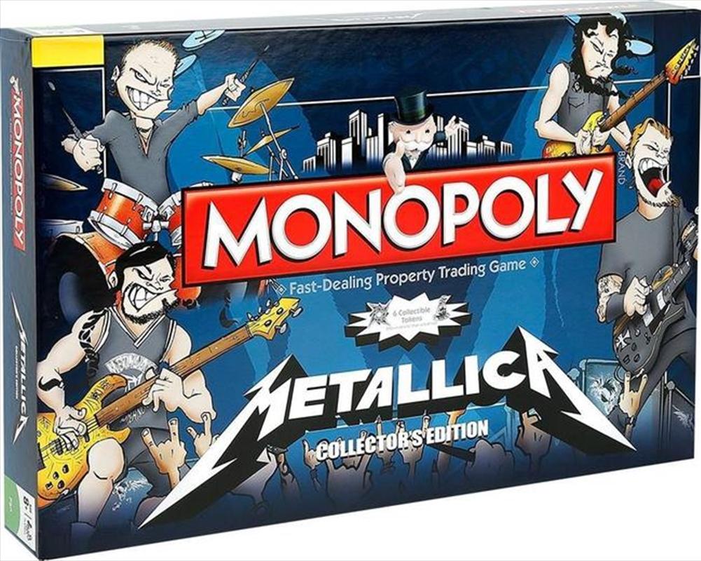 Metallica Monopoly | Merchandise