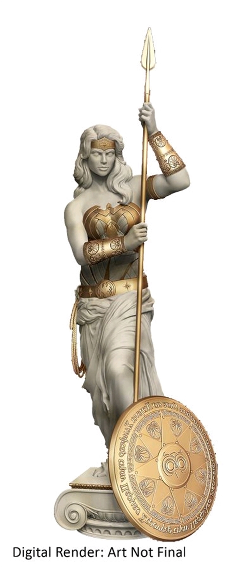 Wonder Woman - Princess of Themyscira Statue   Merchandise