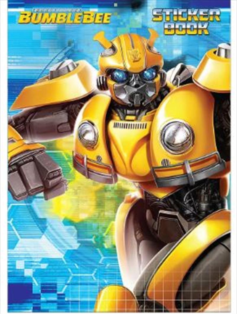 Transformers Bumblebee Sticker Book   Paperback Book