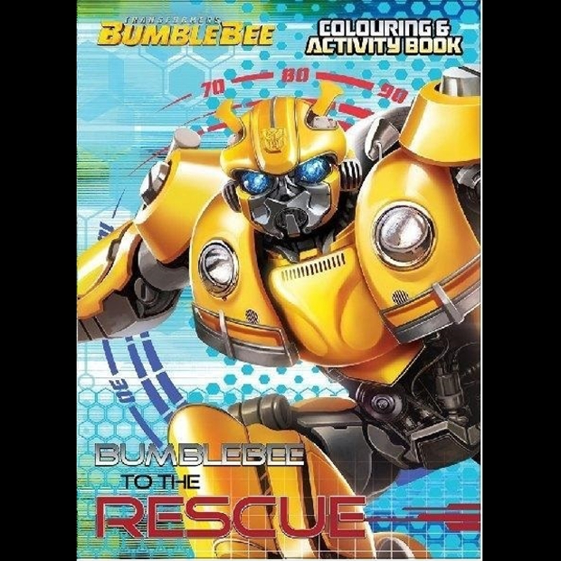Transformers Bumblebee to the Rescue Colouring & Activity Book | Paperback Book
