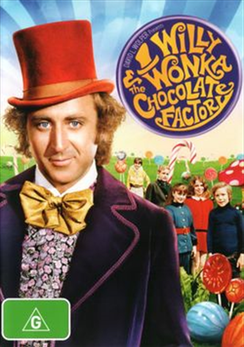 Willy Wonka And The Chocolate Factory | DVD