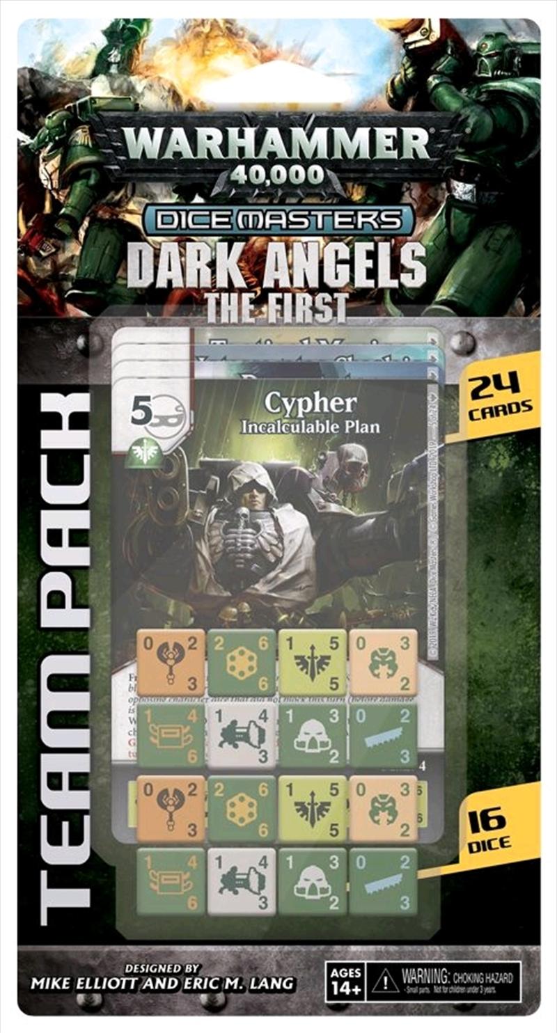 Dice Masters - Warhammer 40K Dark Angels The First Team Pack | Merchandise