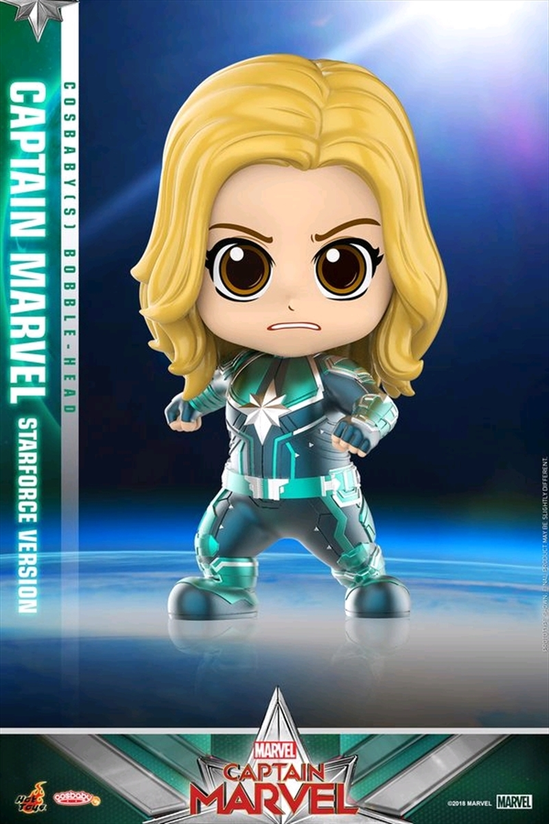 Captain Marvel - Starforce Version Cosbaby | Merchandise