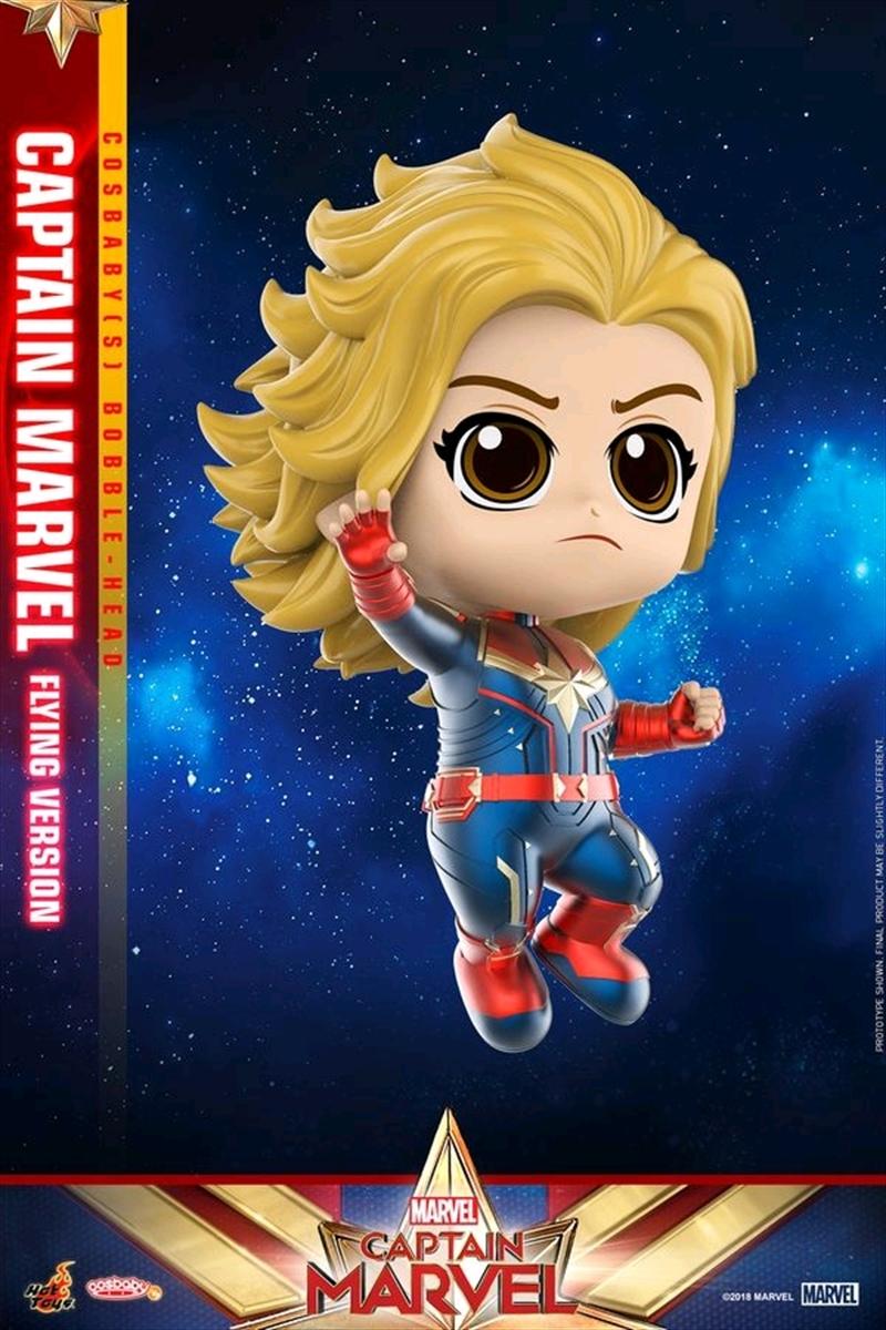Captain Marvel - Flying Version Cosbaby | Merchandise