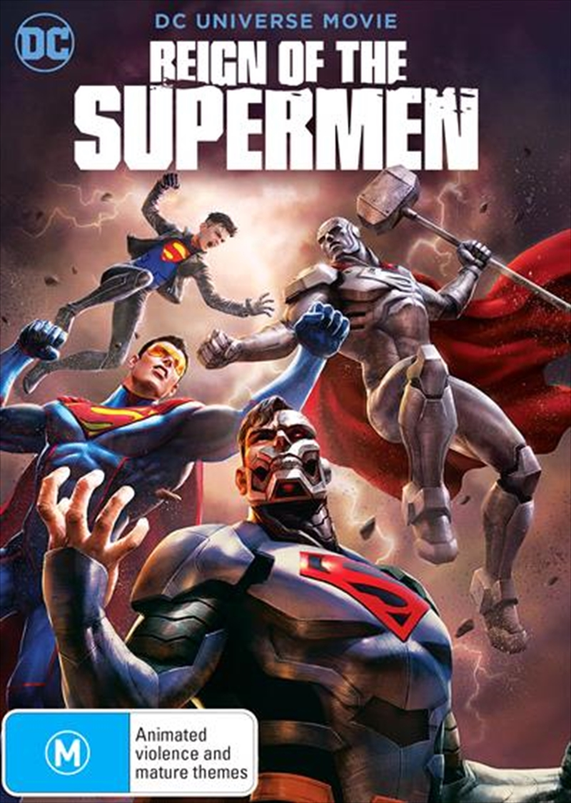 Reign Of The Supermen | DVD