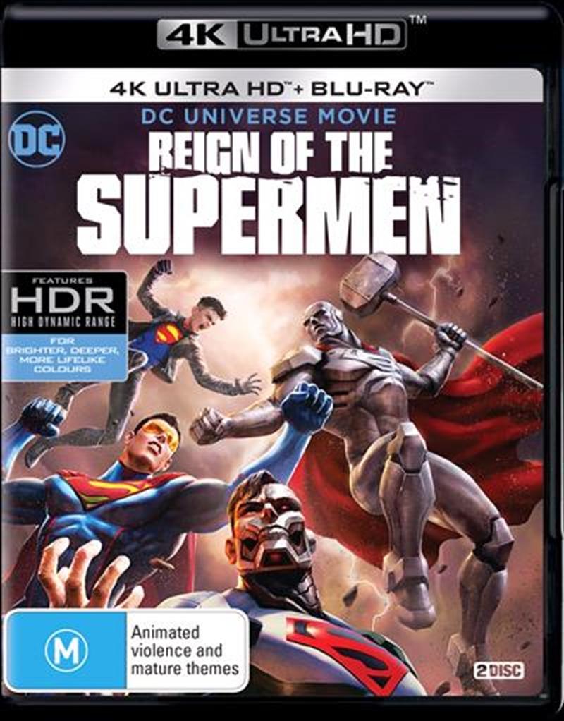Reign Of The Supermen | UHD