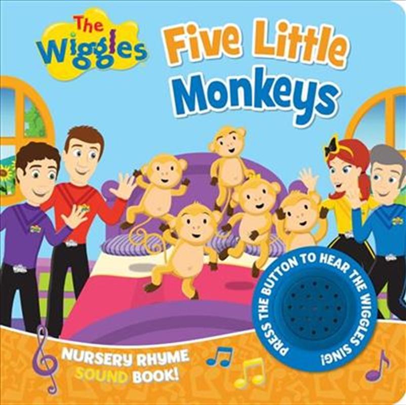 Wiggles: Five Little Monkeys | Paperback Book