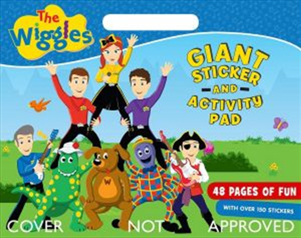 Wiggles: Giant Sticker Activity Pad | Paperback Book