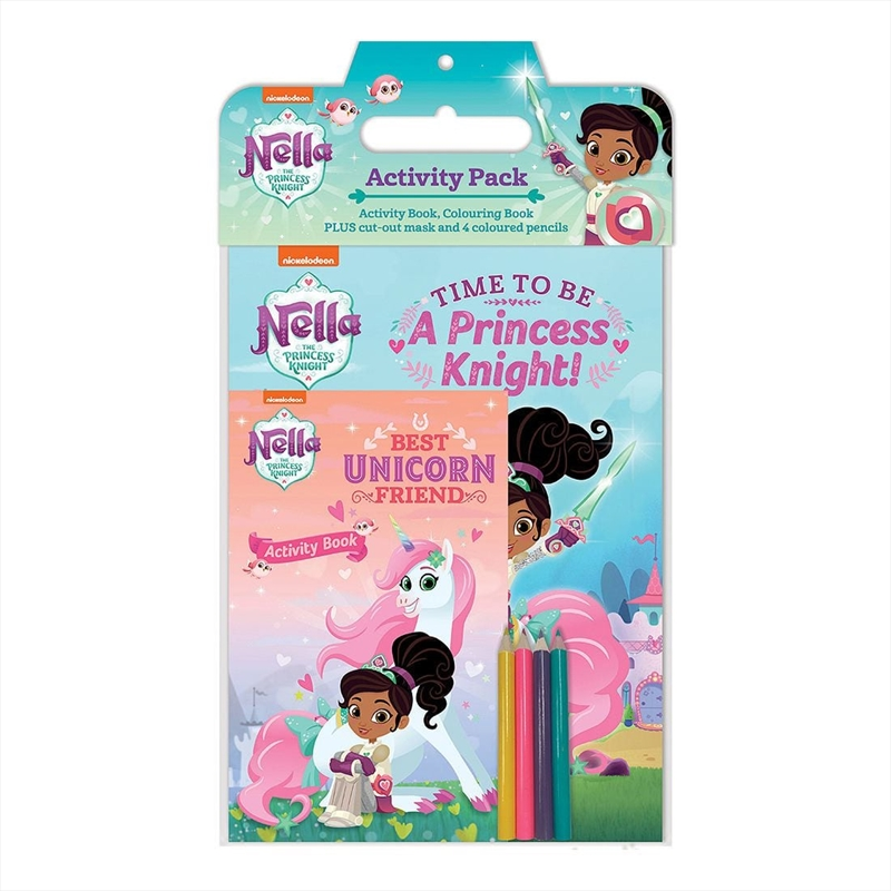 Nella the Princess Knight Activity Pack | Paperback Book