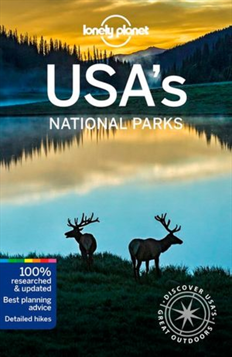 Lonely Planet USA's National Parks | Paperback Book