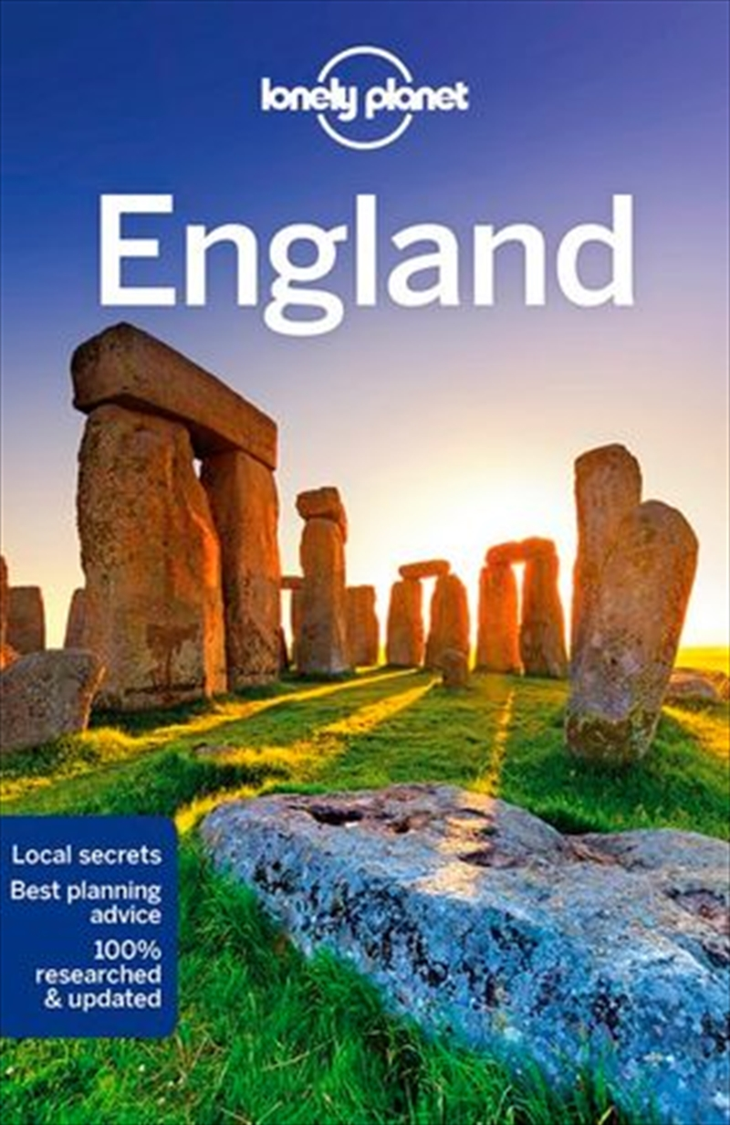 Lonely Planet England | Paperback Book