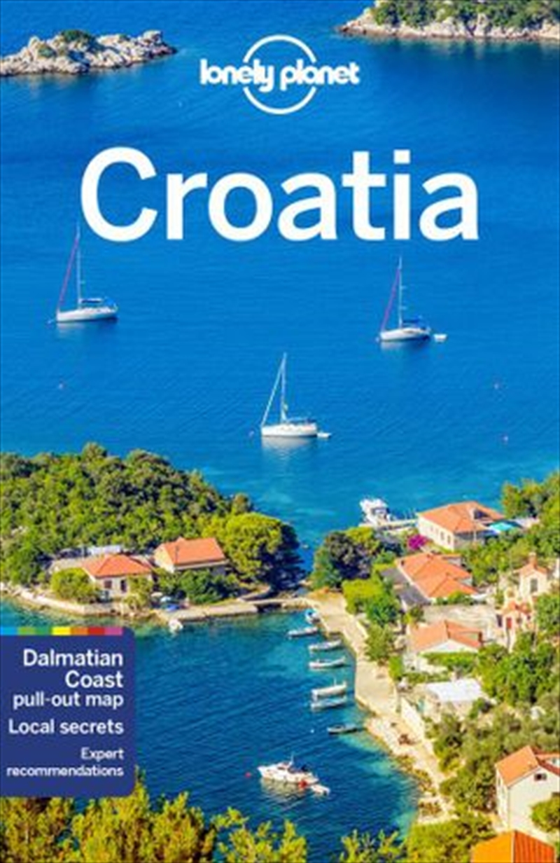 Lonely Planet Croatia | Paperback Book