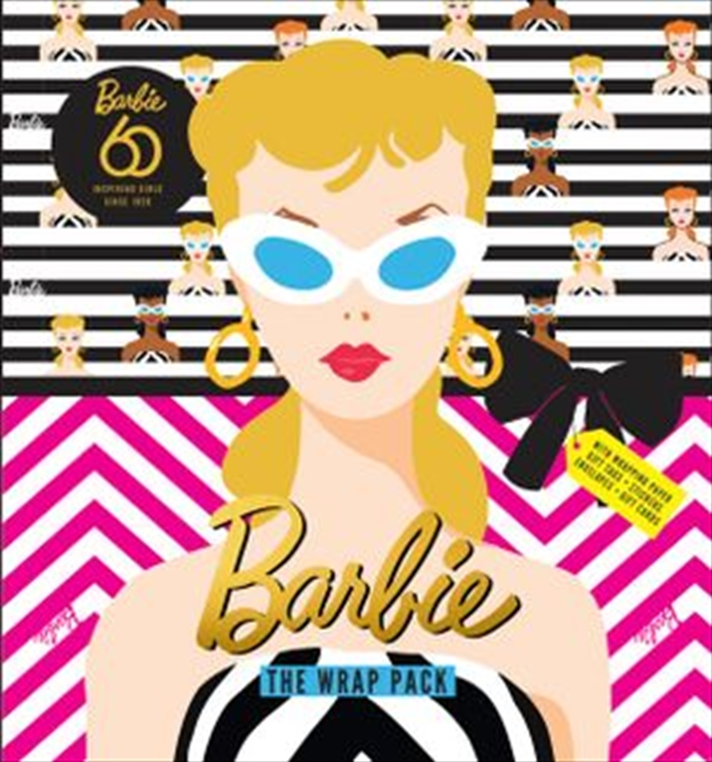 Barbie 60: Wrap Pack | Paperback Book