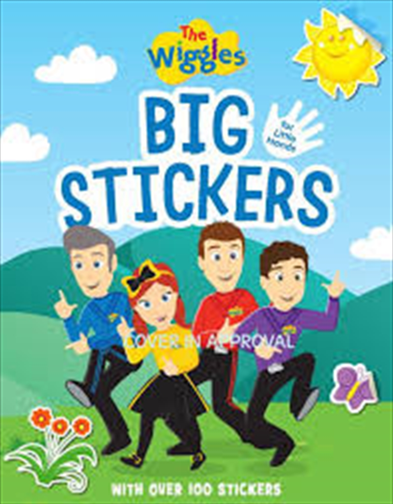 Wiggles: Big Stickers For Small Hands   Paperback Book