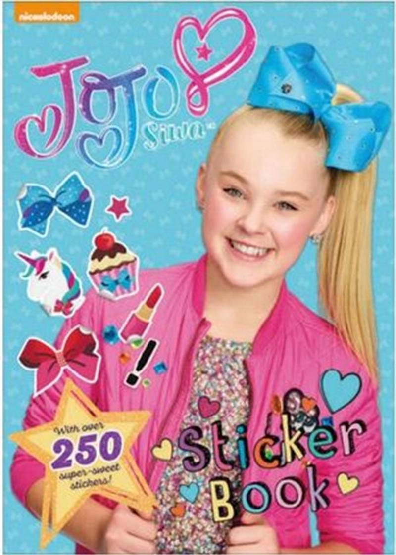 Jo Jo Siwa Sticker Book   Paperback Book