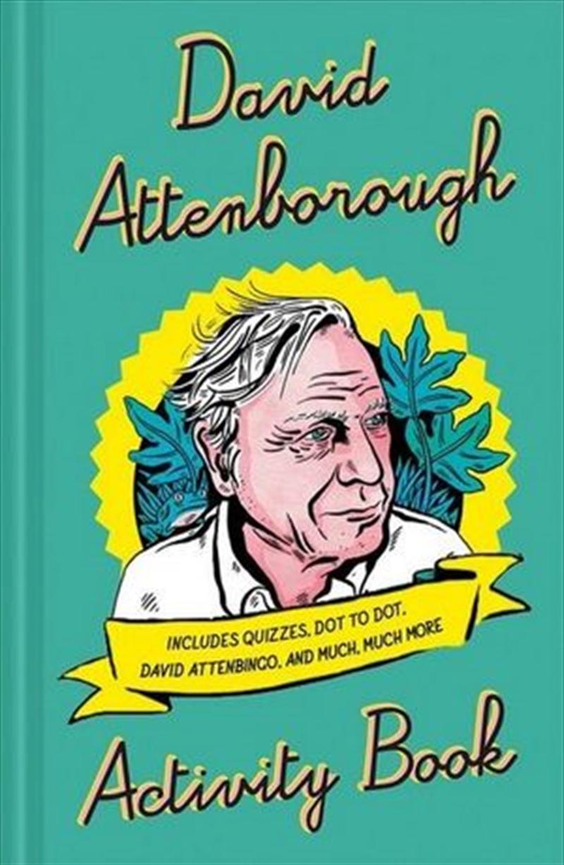 Celebration Of David Attenborough Activity Book   Paperback Book