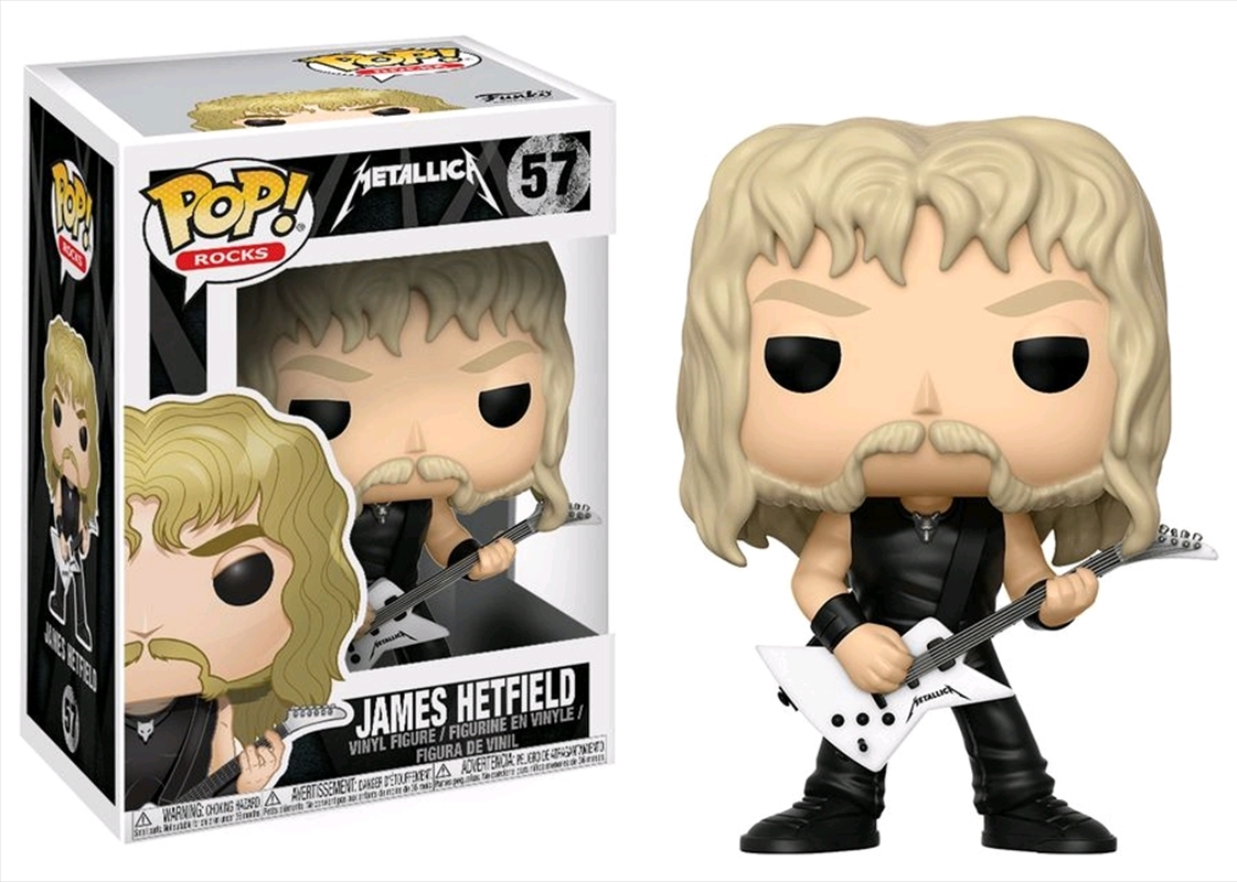 Metallica - James Hetfield Pop! Vinyl | Pop Vinyl