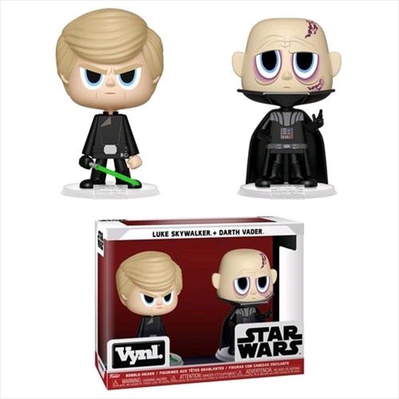 Star Wars - Darth Vader & Luke Skywalker Vynl. | Pop Vinyl