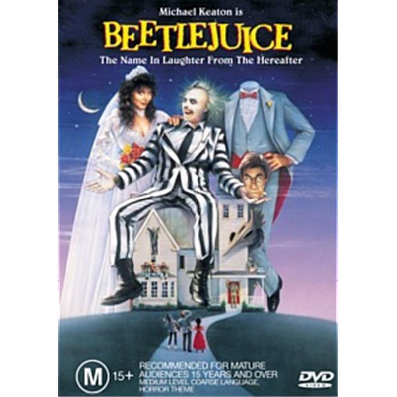 Beetlejuice | DVD