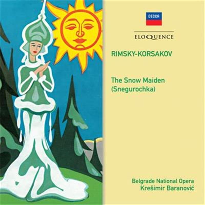 Rimsky Korsakov - Snow Maiden | CD