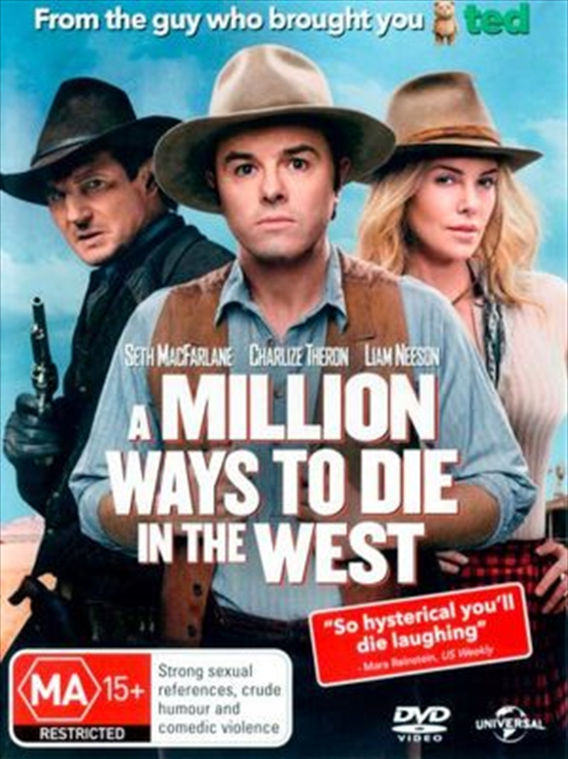 A Million Ways To Die In The West | DVD