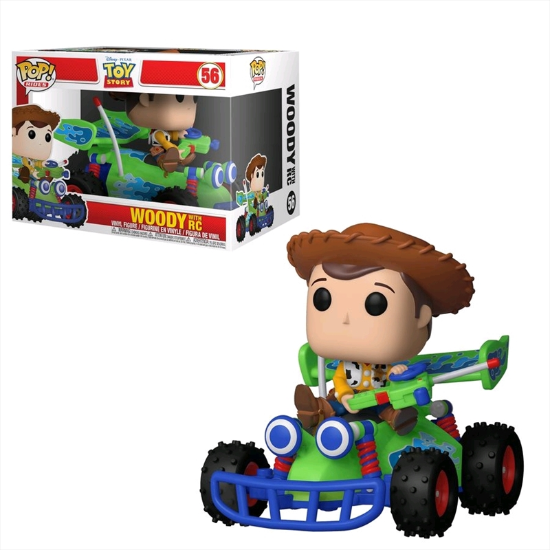 Toy Story - Woody with RC Pop! Ride | Pop Vinyl