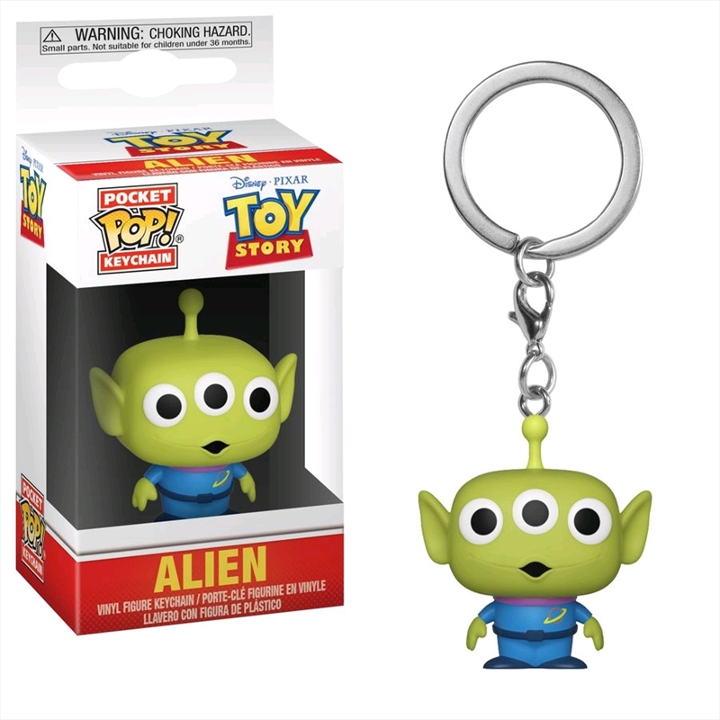 Toy Story - Alien Pocket Pop! Keychain | Pop Vinyl