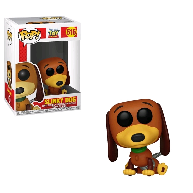 Toy Story - Slinky Dog Pop! Vinyl | Pop Vinyl
