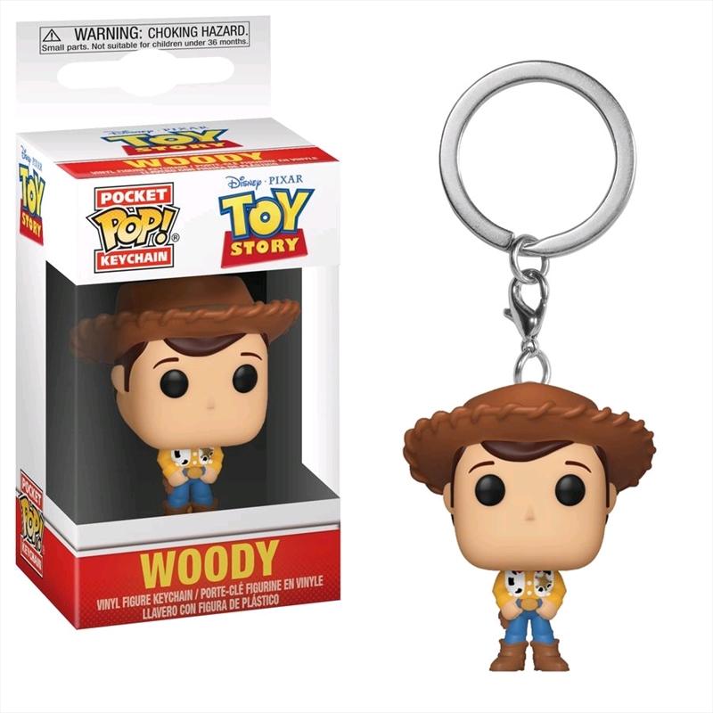 Toy Story - Woody Pocket Pop! Keychain | Pop Vinyl