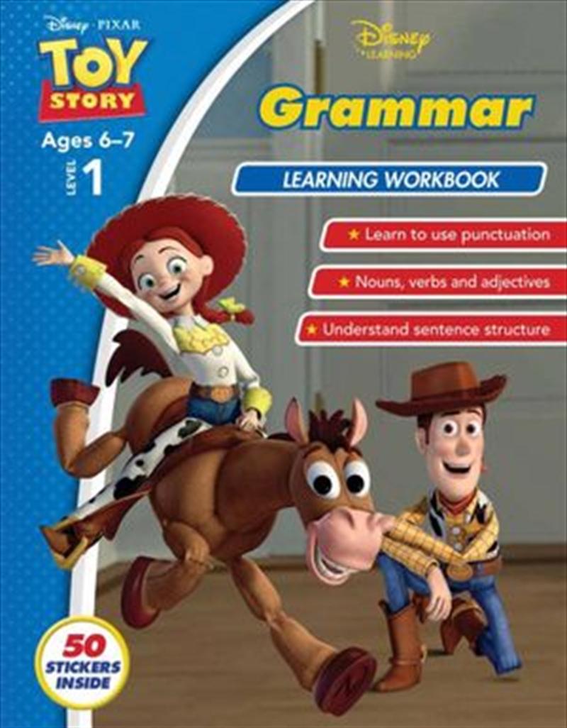 Disney Toy Story: Grammar Learning Workbook Level 1 | Paperback Book