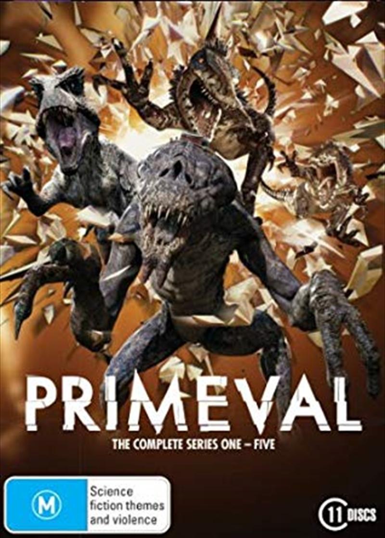 Primeval - Series 1-5   DVD