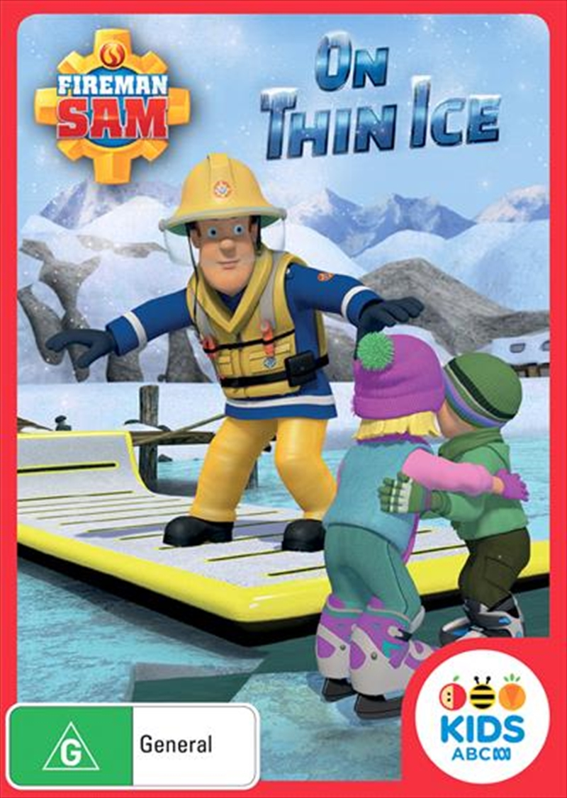 Fireman Sam - On Thin Ice | DVD