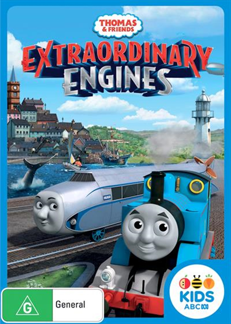 Buy Thomas and Friends: Extraordinary Engines on DVD | On