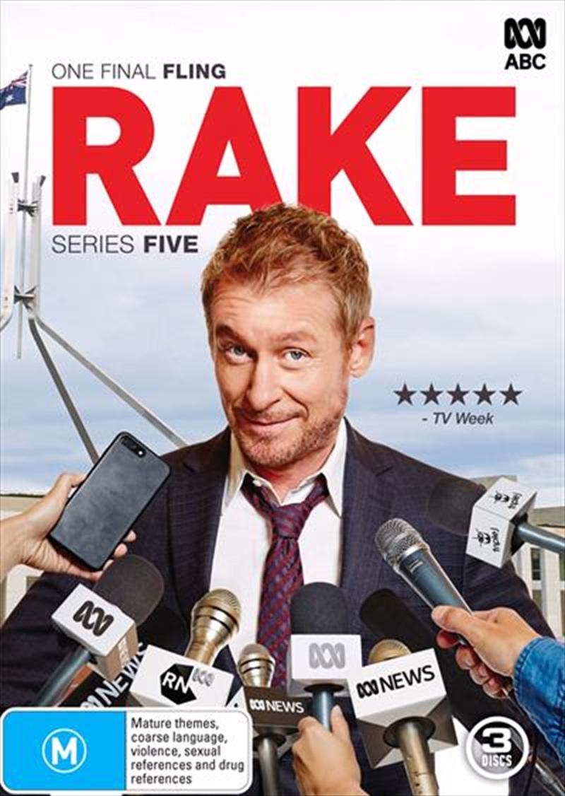 Rake - Series 5 | DVD
