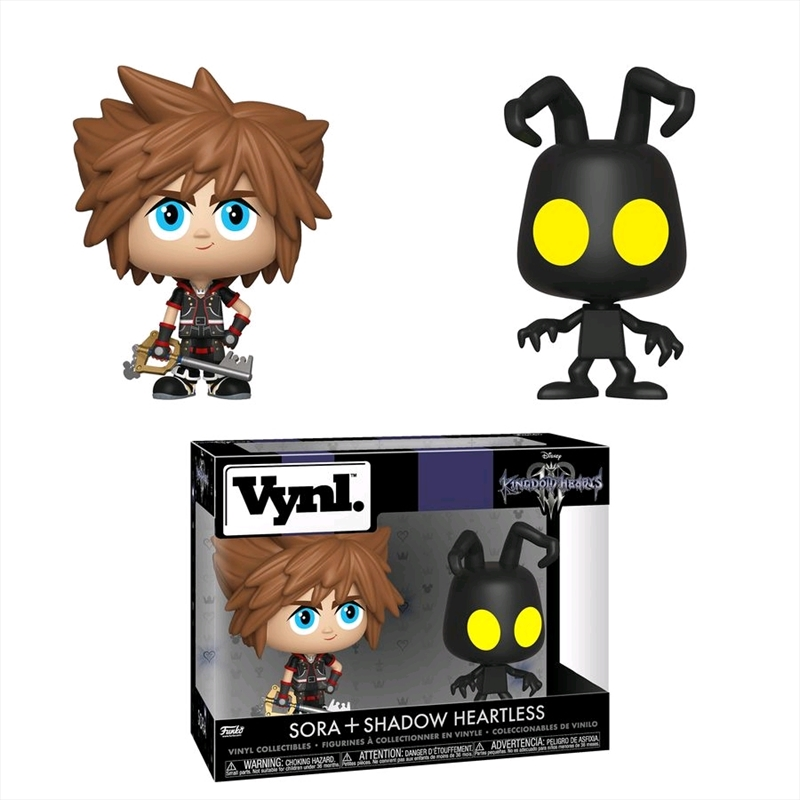 Kingdom Hearts 3 - Sora & Heartless Vynl. | Pop Vinyl