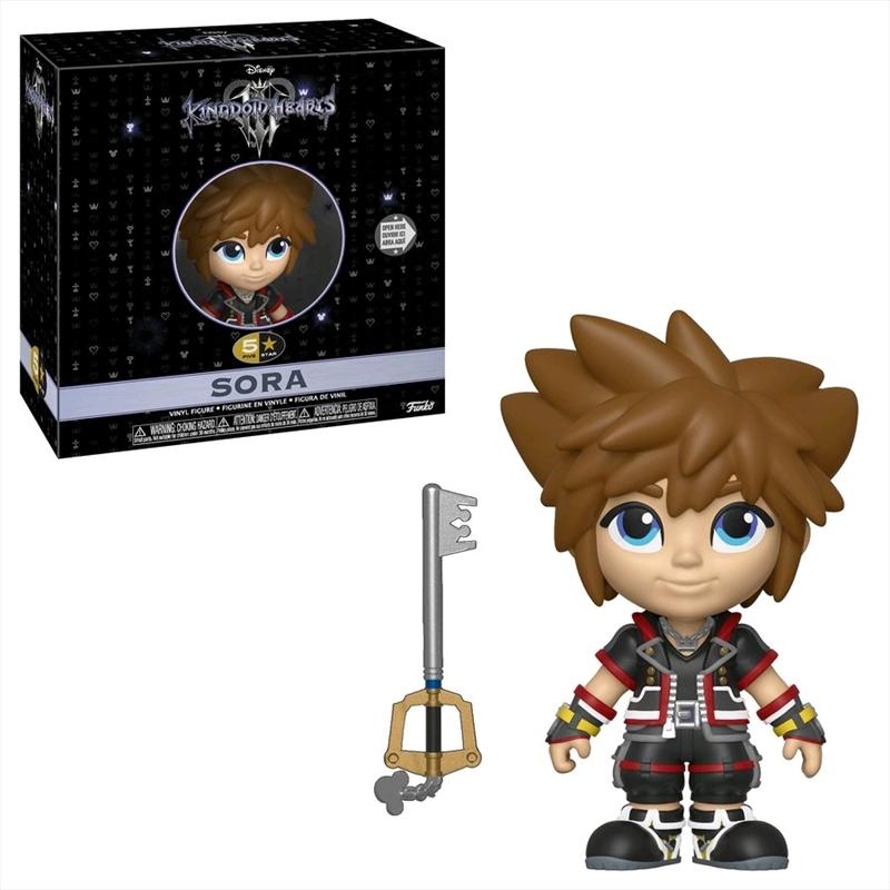 Kingdom Hearts 3 - Sora 5-Star Vinyl Figure | Merchandise