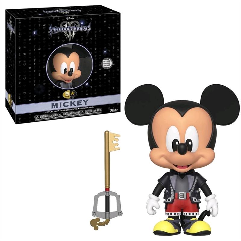 Kingdom Hearts 3 - Mickey 5-Star Vinyl Figure | Merchandise
