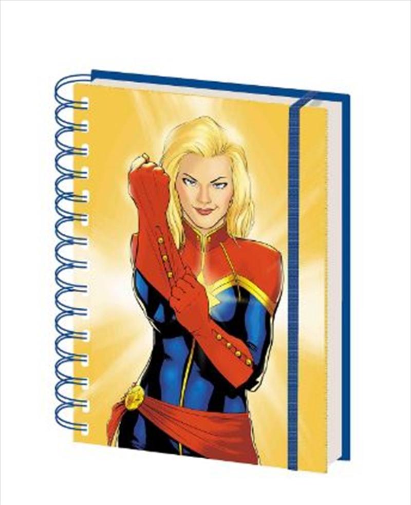 Marvel Comics - Captain Marvel Glove A5 Spiral Notebook | Merchandise
