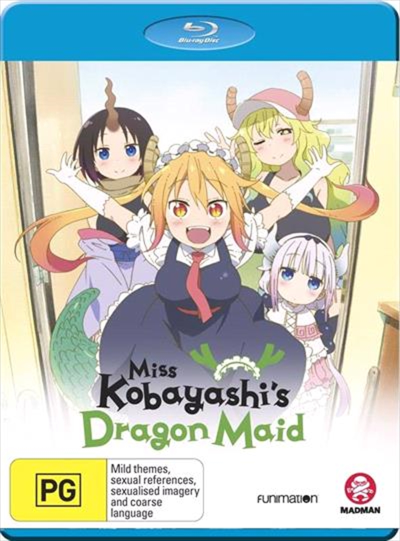 Miss Kobayashi's Dragon Maid - Complete Series | Blu-ray
