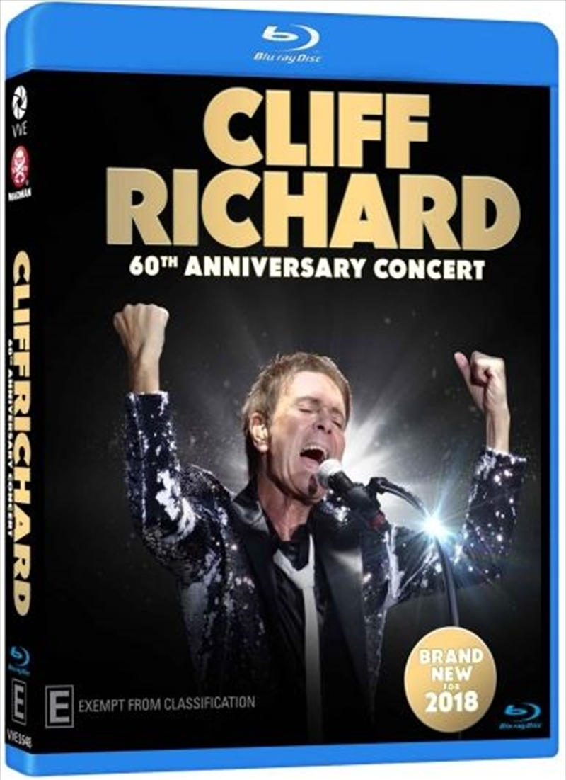 Cliff Richard 60th Anniversary   Blu-ray