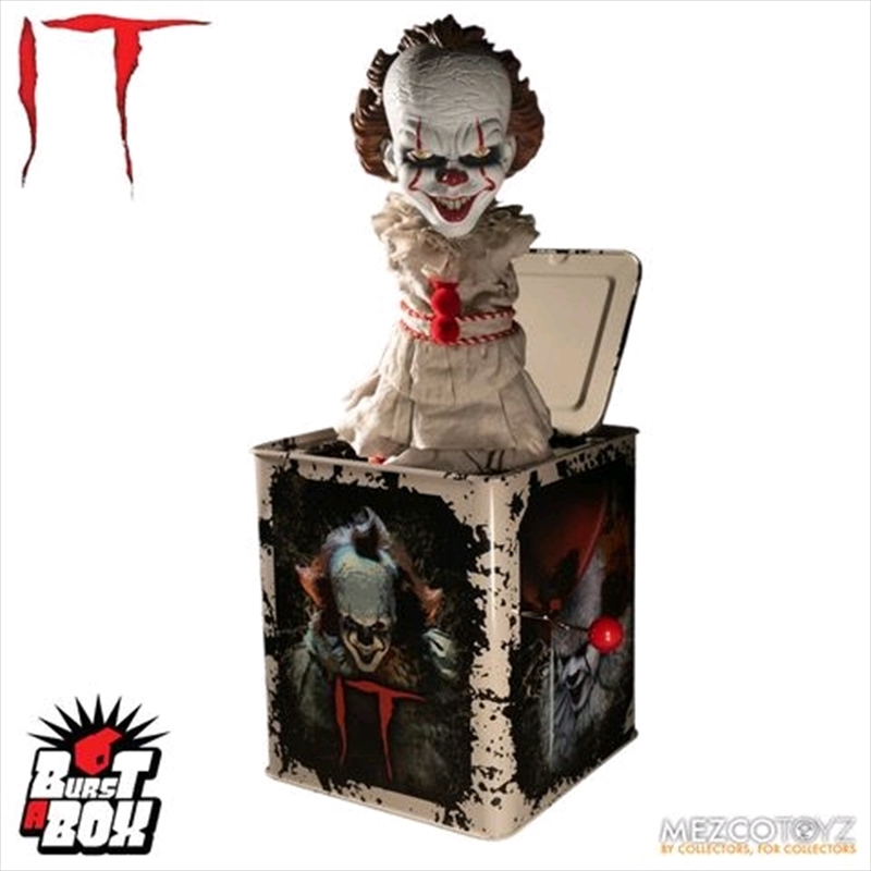 It (2017) - Pennywise Burst-A-Box | Collectable
