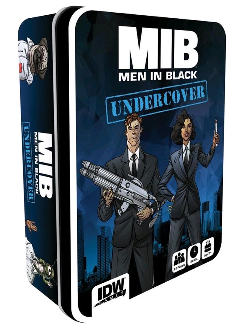 Men in Black - Undercover Game in Tin | Merchandise