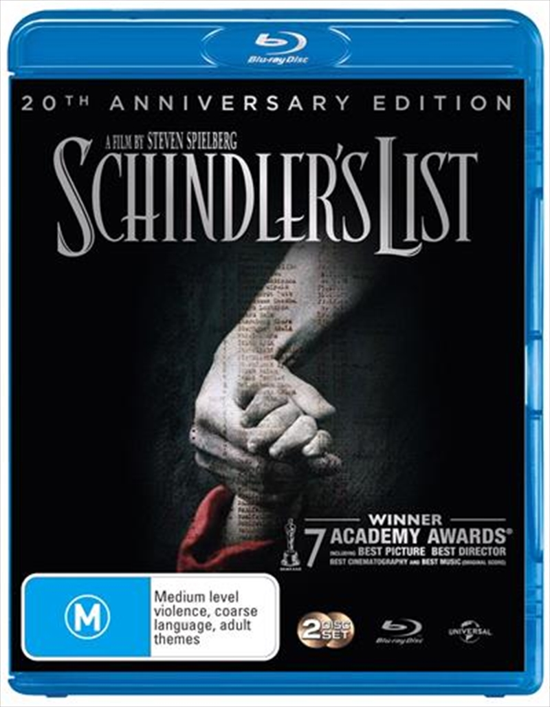 Schindler's List - 20th Anniversary Edition | Blu-ray