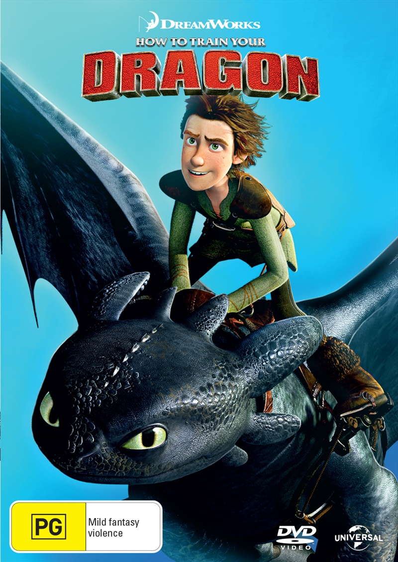 How To Train Your Dragon Fully Loaded | DVD