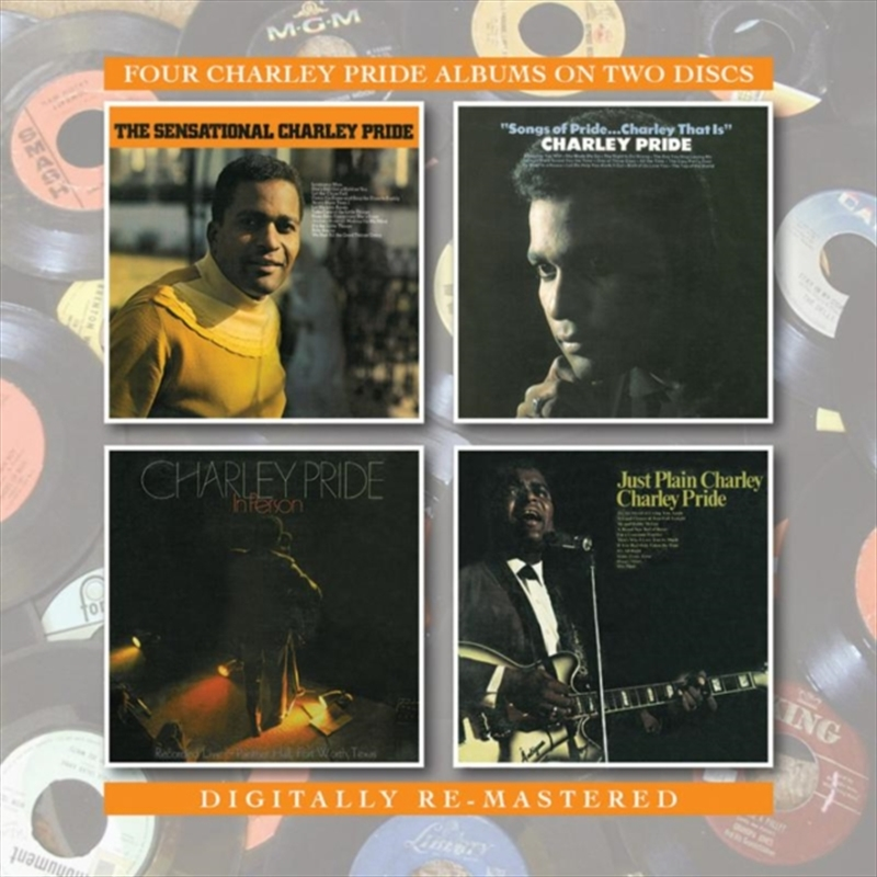 Sensational Songs - 4 Charley Pride Albums | CD