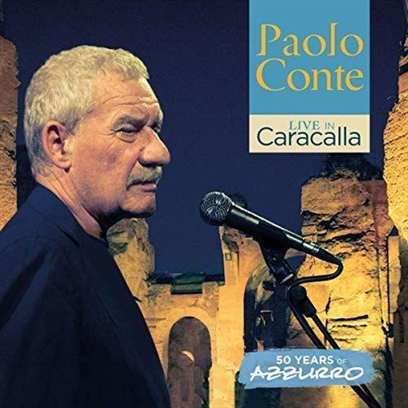 Live In Caracalla - 50 Years Of Azzurro | CD