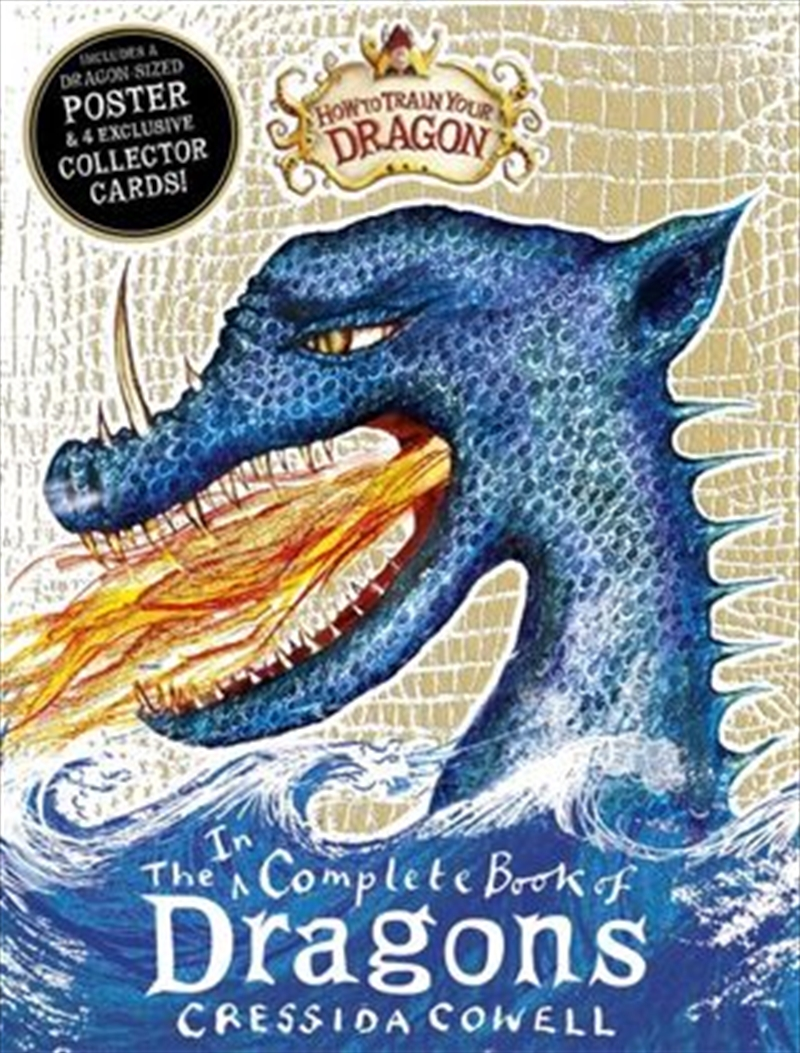 How to Train Your Dragon: Incomplete Book of Dragons | Paperback Book