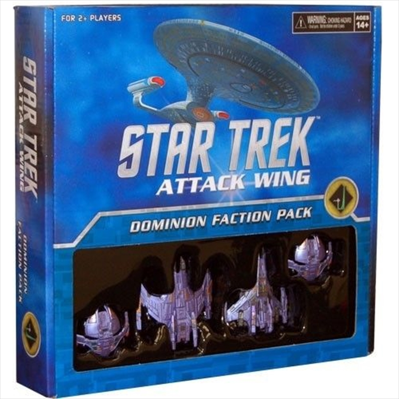 Star Trek - Attack Wing Dominion Faction Pack Cardassian Union | Merchandise