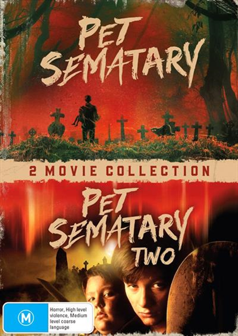Pet Sematary / Pet Sematary Two - Franchise Pack | DVD